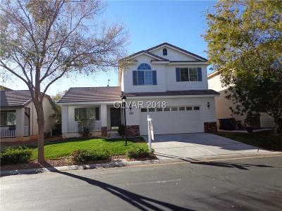 Las Vegas Single Family Home For Sale: 7709 Brilliant Forest Street