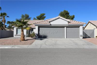 North Las Vegas Single Family Home Contingent Offer: 5029 Sunrise Falls Court
