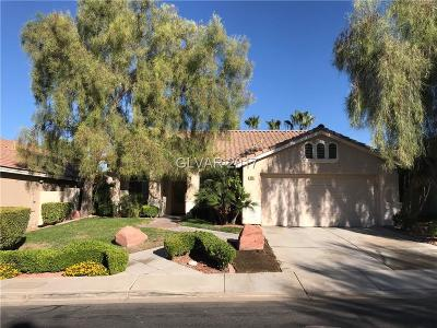 Henderson Single Family Home For Sale: 302 Canyon Spirit Drive