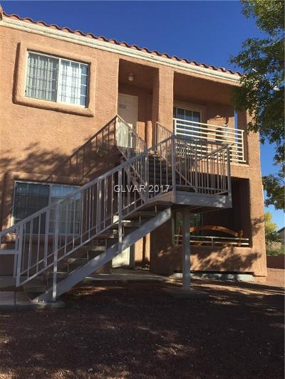 North Las Vegas Condo/Townhouse For Sale: 3318 Decatur Boulevard #2080