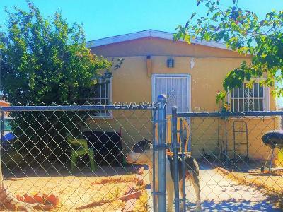 Las Vegas Single Family Home For Sale: 1037 Lawry Avenue