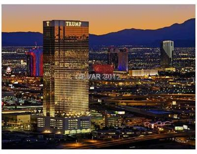 Trump Intl Hotel & Tower-, Trump Intl Hotel & Tower- Las High Rise For Sale: 2000 Fashion Show Drive #3808