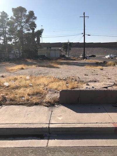 North Las Vegas Residential Lots & Land For Sale: 1849 Princeton Street