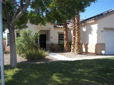 North Las Vegas Single Family Home Contingent Offer: 5119 Big Island Court