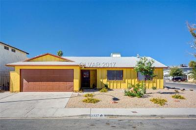 Las Vegas Single Family Home For Sale: 2327 Miner Way