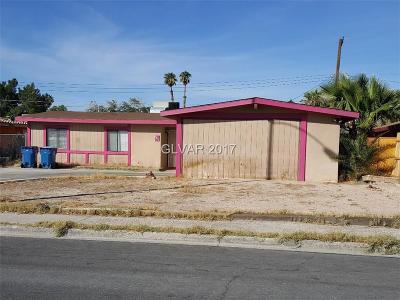 Blue Diamond, Boulder City, Henderson, Las Vegas, North Las Vegas, Pahrump Single Family Home Contingent Offer: 2612 Las Verdes Street