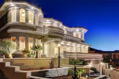 Boulder City, Henderson, Las Vegas, North Las Vegas Single Family Home For Sale: 218 Desert Rose Court