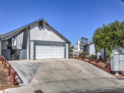 Las Vegas Condo/Townhouse For Sale: 3766 Viking Garden Circle