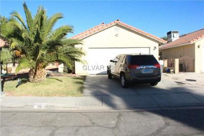 Blue Diamond, Boulder City, Henderson, Las Vegas, North Las Vegas, Pahrump Single Family Home Contingent Offer