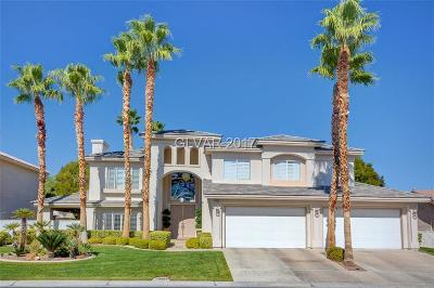 Las Vegas  Single Family Home For Sale: 10008 Rolling Glen Court