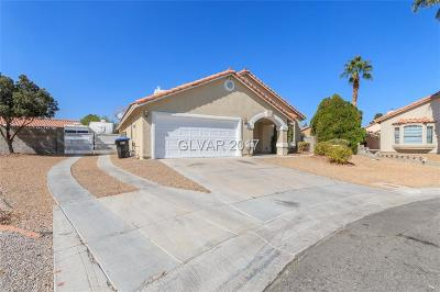 North Las Vegas Single Family Home For Sale: 4426 Chipwood Court