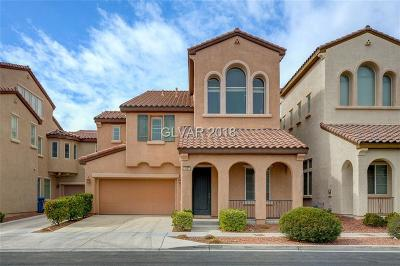 Las Vegas Single Family Home For Sale: 1857 Cape Cod Landing Drive