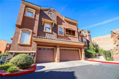 Las Vegas Condo/Townhouse For Sale: 3975 Hualapai Way #136