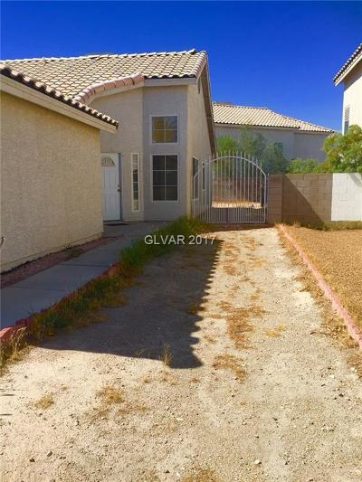 Las Vegas Single Family Home For Sale: 3791 Steinbeck Drive
