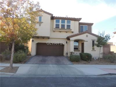 Las Vegas Single Family Home For Sale: 7479 Crooked Branch Street