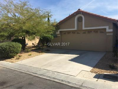 Las Vegas Single Family Home For Sale: 1704 Western Lily Street