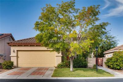 Las Vegas Single Family Home For Sale: 7817 Bright Heights Street