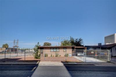 Las Vegas Single Family Home For Sale: 224 Cincinnati Avenue