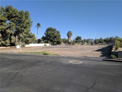 Henderson Residential Lots & Land For Sale: 3015 La Mesa Drive