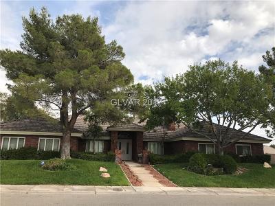 Boulder City, Henderson, Las Vegas, North Las Vegas Single Family Home For Sale: 2130 Diamond Bar Drive