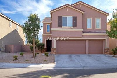 North Las Vegas Single Family Home For Sale: 3991 Topaz Hills Drive