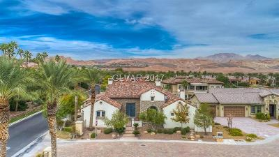 Henderson, Las Vegas Single Family Home Contingent Offer: 1 Via Di Lugano