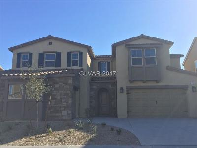North Las Vegas Single Family Home For Sale: 913 Claystone Ridge Avenue