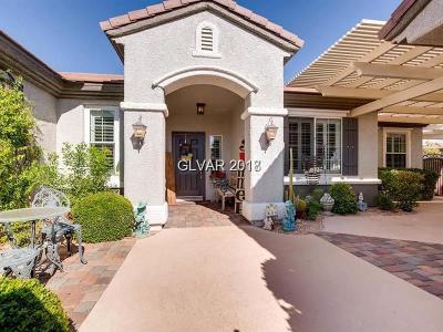 Boulder City, Henderson, Las Vegas, North Las Vegas Single Family Home For Sale: 2301 Fossil Canyon Drive