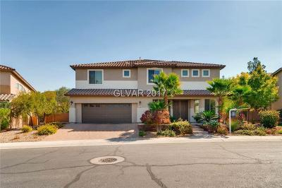 Henderson, Las Vegas Single Family Home For Sale: 376 Via Sonador