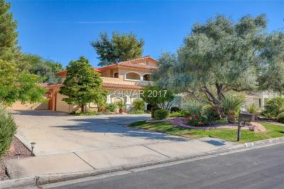 Henderson, Las Vegas Single Family Home For Sale: 2420 High Vista Drive