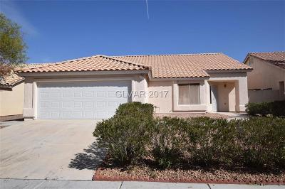 Las Vegas Single Family Home For Sale: 4682 Brently Place