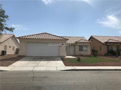 North Las Vegas Single Family Home For Sale: 3805 Gramercy Avenue