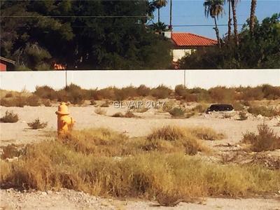 Las Vegas Residential Lots & Land For Sale: 2936 Red Rock Street