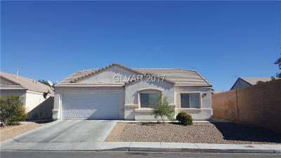 North Las Vegas Single Family Home For Sale: 4042 Aaron Scott Street