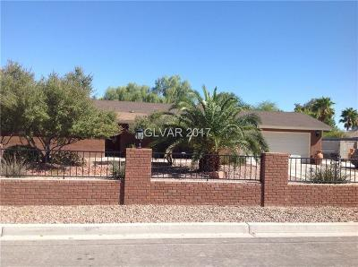 North Las Vegas Single Family Home For Sale: 3904 Six Gun Road