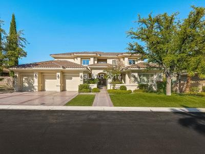 Henderson, Las Vegas Single Family Home For Sale: 8612 Titleist Circle