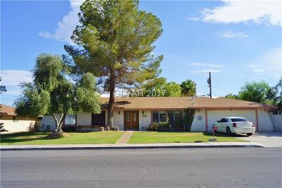 Las Vegas Single Family Home For Sale: 4229 Coran Lane