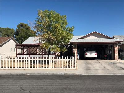 Clark County Single Family Home For Sale: 6524 Romance Circle
