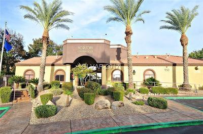 Clark County Condo/Townhouse For Sale: 950 Seven Hills Drive #1312
