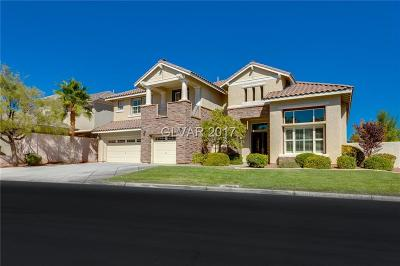 Las Vegas Single Family Home For Sale: 10806 Chartwell Court