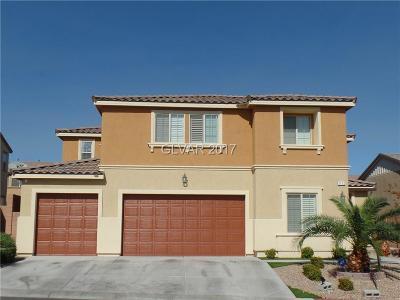 North Las Vegas Single Family Home For Sale: 1112 Adobe Creek Court