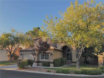 Las Vegas Single Family Home For Sale: 7894 High Desert Drive