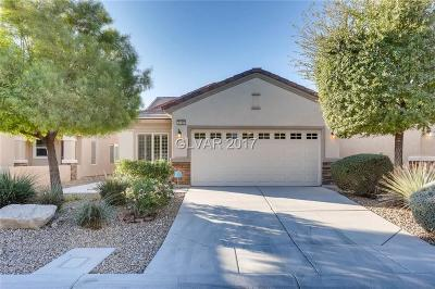 North Las Vegas Single Family Home For Sale: 3109 Kingbird Drive