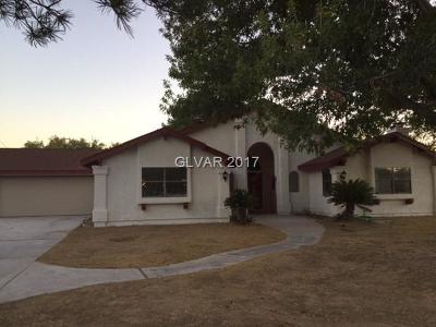 Clark County Single Family Home Contingent Offer: 5531 Madre Mesa Drive