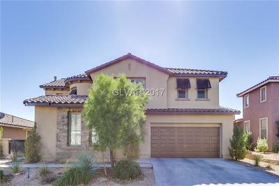 Las Vegas NV Single Family Home For Sale: $427,000