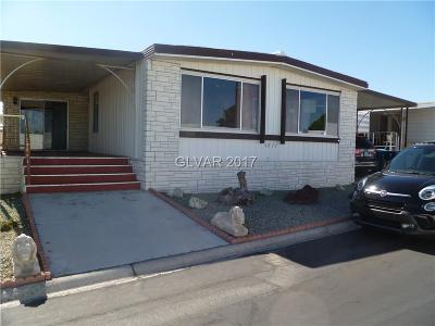 Las Vegas Manufactured Home For Sale: 4977 Ridge Avenue