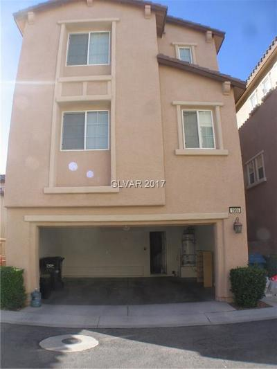 Las Vegas Single Family Home Contingent Offer: 1966 Hollywell Street