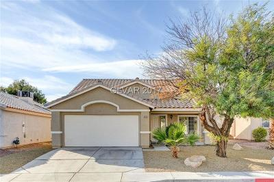 Las Vegas Single Family Home Contingent Offer: 3335 Trotting Horse Road