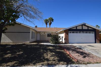 Las Vegas Single Family Home For Sale: 4893 Monterrey Avenue