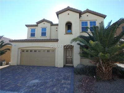 Las Vegas Single Family Home For Sale: 245 Garden Trellis Court